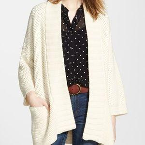 Madewell XS Oversized Kimono Cardigan Sweater